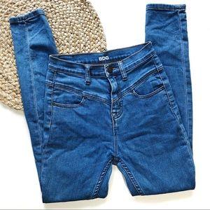 BDG | 26x29 Blue High Rise Seam Jean Ankle Jeans